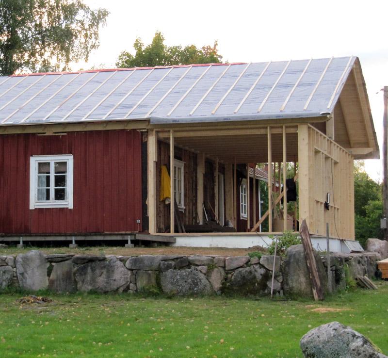 Erweiterung von Holzhäusern: Dach- und Tragwerkkonstruktionen