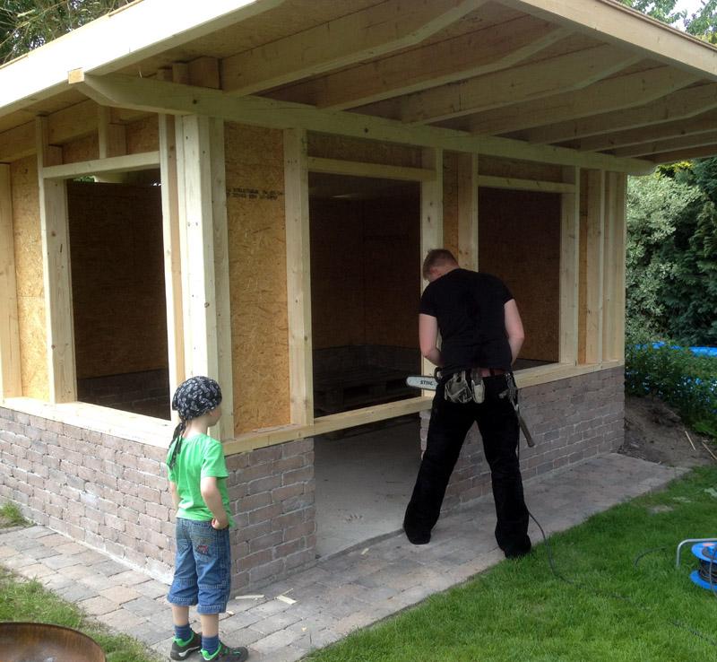 Planung und Bau von individuellen Gartenhäusern